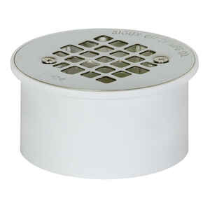 Sioux Chief  3 or 4 in. Dia. PVC  General Purpose Floor Drain