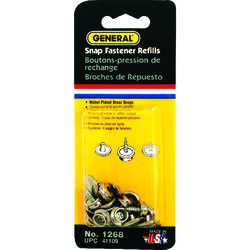 General Tools  3/8 in. Dia. x - in. Dia. Brass  Grommet  6 count