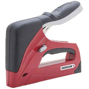 Arrow Fastener  3/8 in. Flat  Stapler and Nail Gun  Red