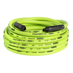 Flexzilla  50 ft. L x 3/8 in. Dia. Hybrid Polymer  Air Hose  300 psi Green