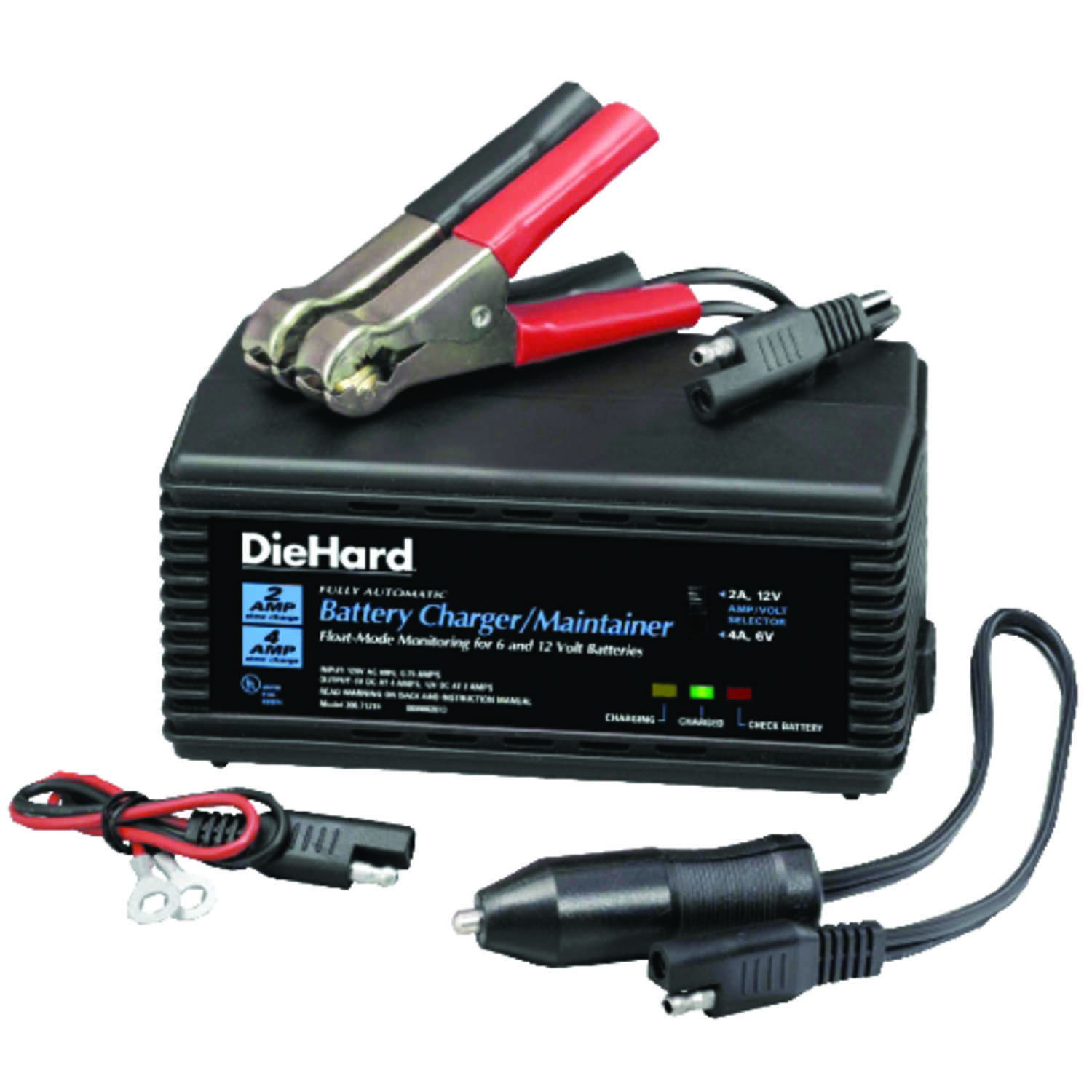 DieHard Automatic 6/12 Volt 2 Amps Battery Charger