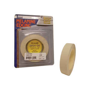 Band-It  0.75 in. W x 25 ft. L Prefinished  Almond  Melamine Edge Banding