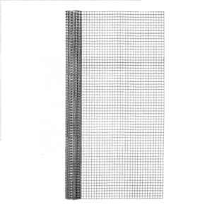 Garden Zone  36 in. W x 5 ft. L Silver Gray  Steel  Hardware Cloth  1/2 in.