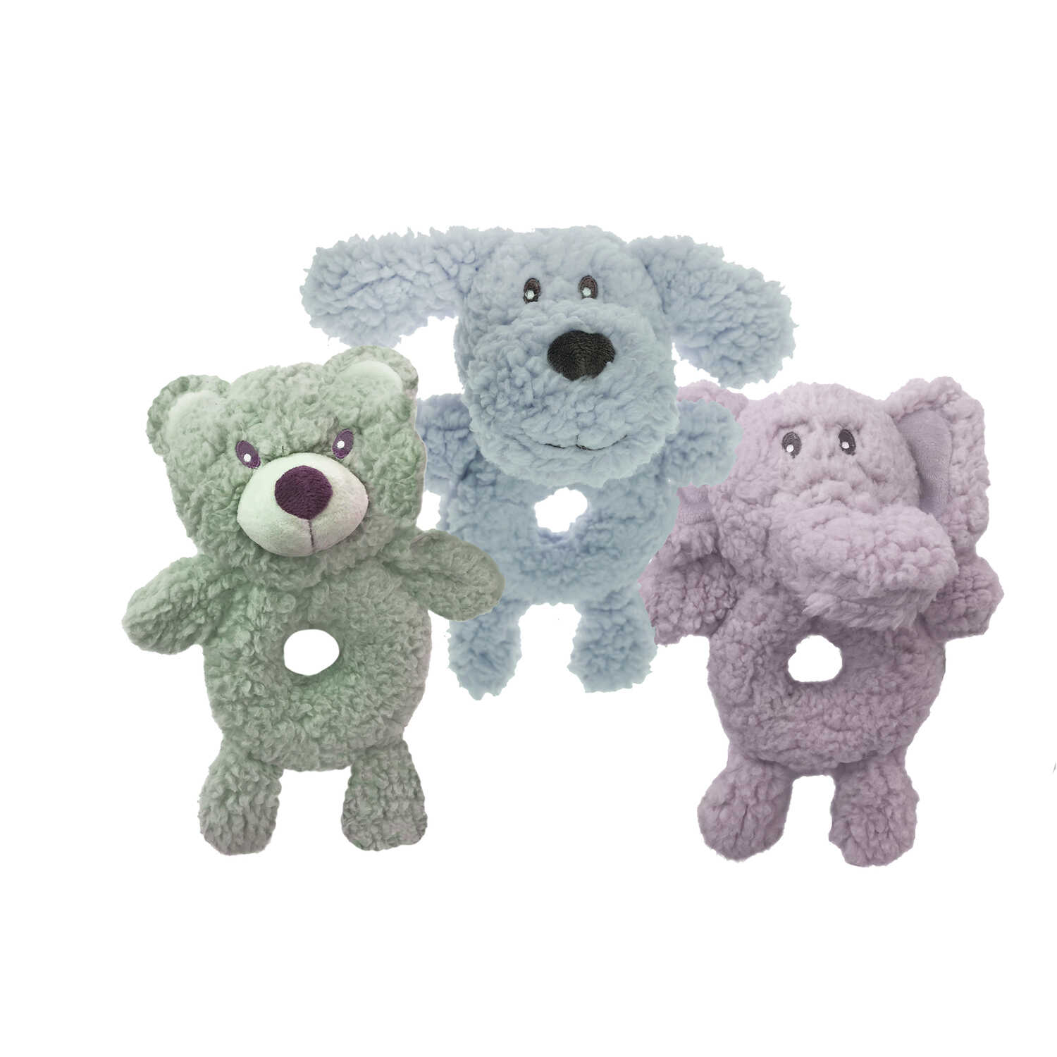 Multipet  Aromadog  Assorted  Assorted  Dog Toy  Medium  Fleece