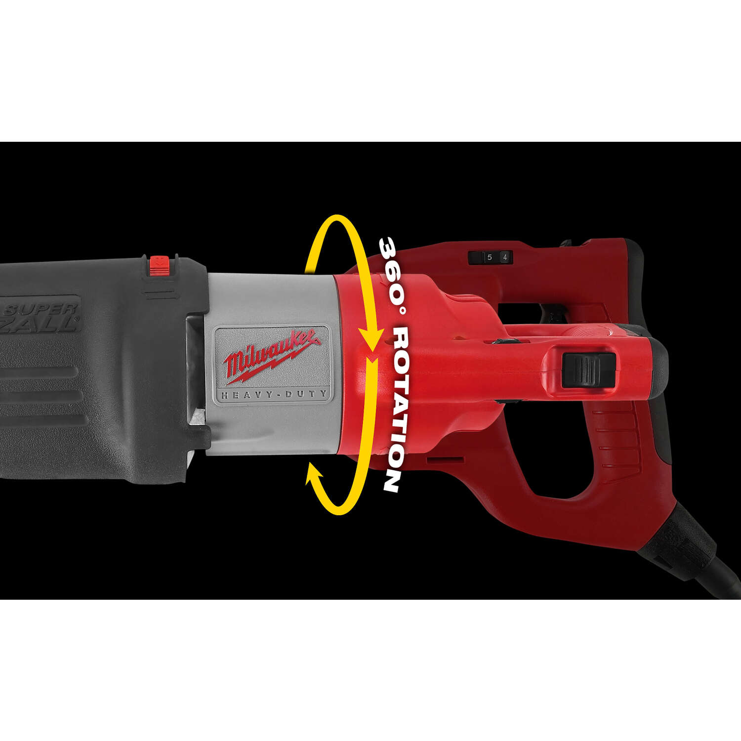 Milwaukee  SAWZALL  Corded  1-1/4 in. Reciprocating Saw  13 amps 3000 spm