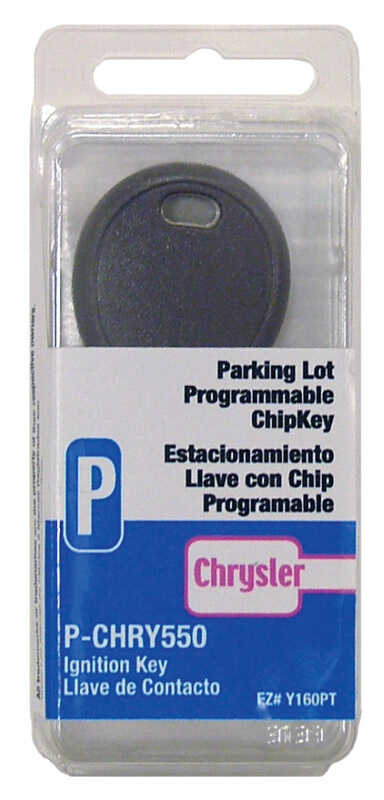 Hy-Ko  Automotive  Chipkey  EZ# Y160PT  Single sided For Fits Most Chrysler Ignitions
