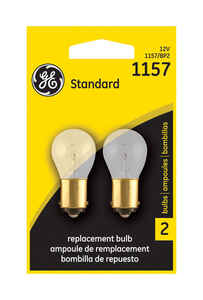 GE Lighting  12 volt Automotive Bulb  1157BP  1 pk