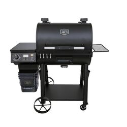 Oklahoma Joe's Rider DLX Wood Pellet Grill and Smoker Black