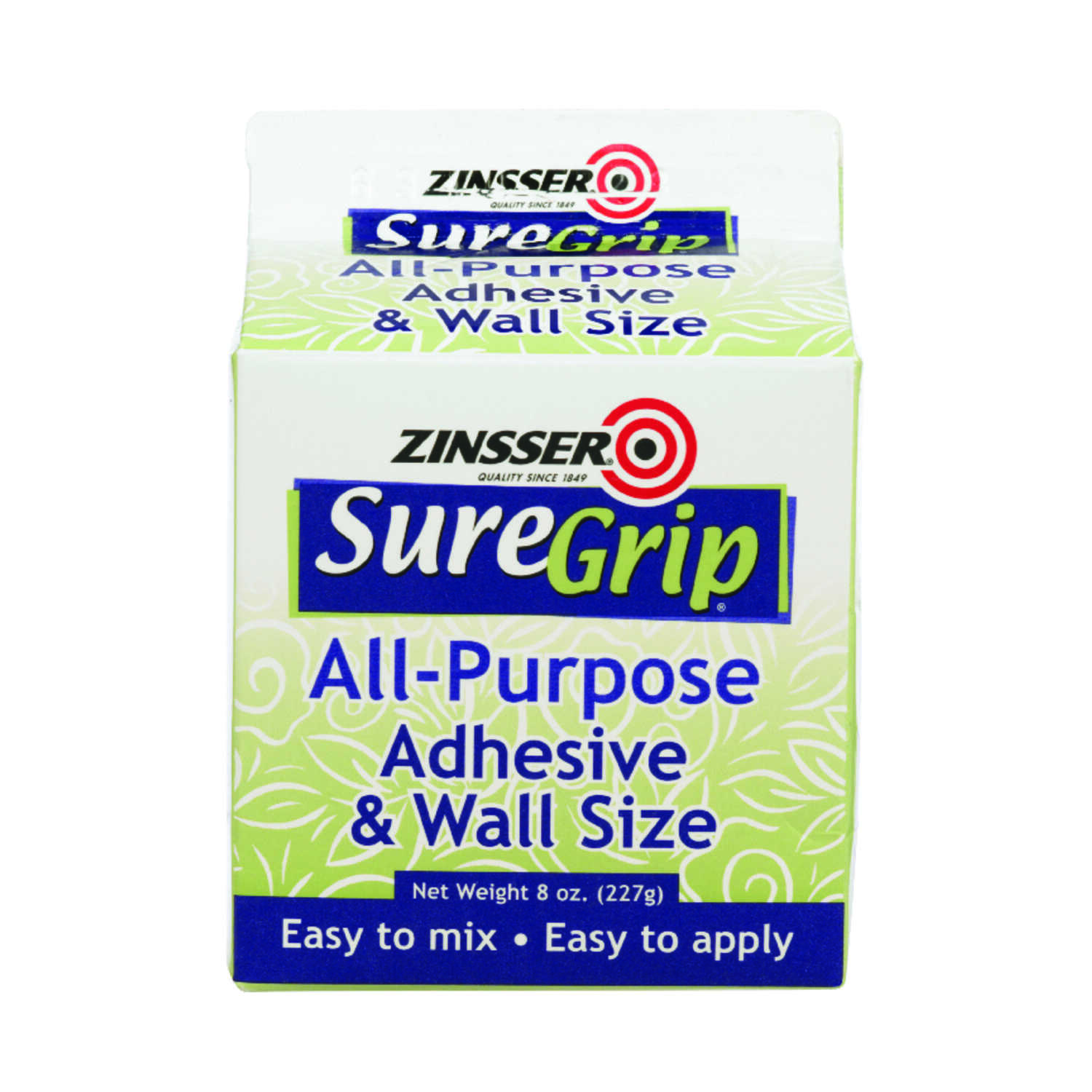 Zinsser  SureGrip  High Strength  Acrylic  Adhesive  8 oz.