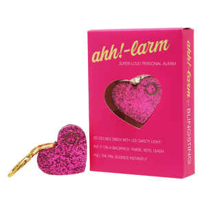 Blingsting  Ahh!-Larm  Pink  Plastic  Personal Security Alarm
