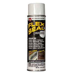 Flex Seal  As Seen On TV  Satin  White  14 oz. Rubber Spray Sealant