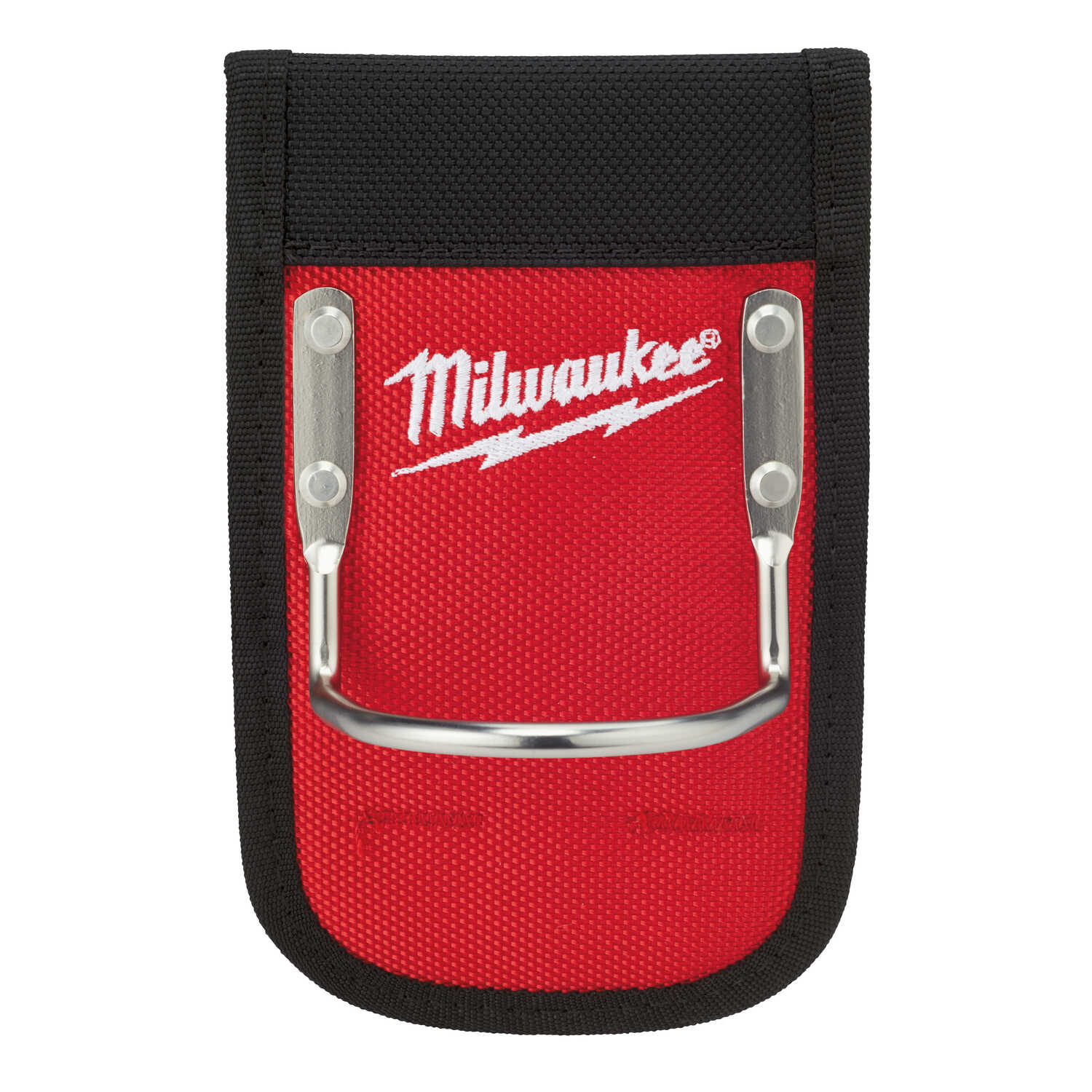Milwaukee  Red  7 in. L x 1 in. H x 4 in. W Hammer Loop  Metal/Nylon  Red