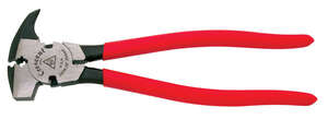 Cooper Tools  10-5/16 in. Alloy Steel  Fence Pliers  Red  1