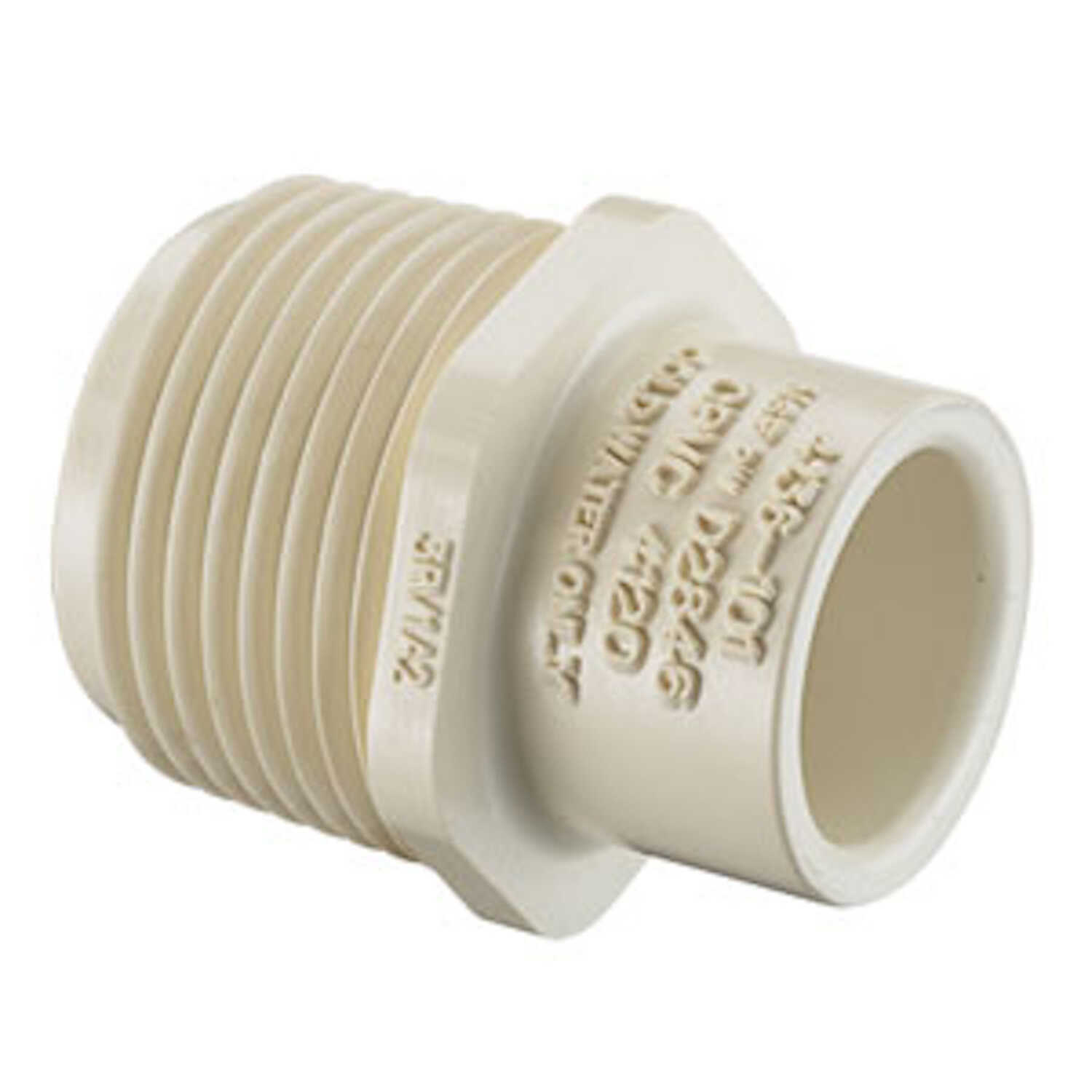 Spears  3/4 in. MPT   x 1/2 in. Dia. Slip  CPVC  Reducer Male Adapter