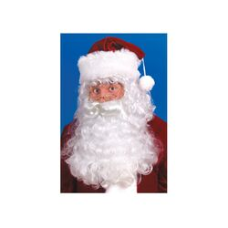 Fun World  Christmas  Santa Wig and Beard Set