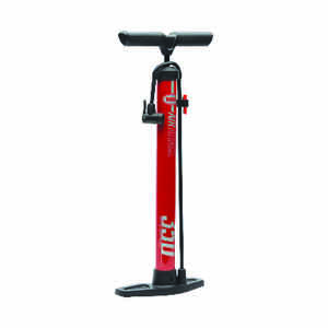 Bell Sports  100 PSI  Steel  Bike Pump  Red