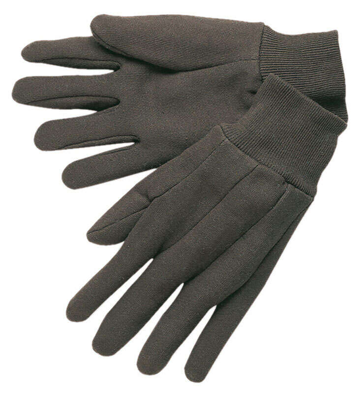 MCR Safety  L  Jersey  Brown  Gloves