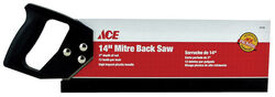 Ace  14 in. Mitre Back Saw  12 TPI