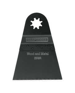 Craftsman  1 pc. Multi-Tool Saw Blade  Black