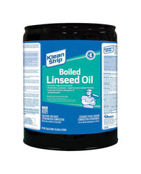 Klean Strip  Transparent  Clear  Boiled Linseed Oil  5 gal.
