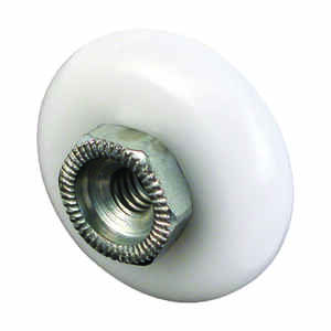 Prime-Line  3/4 in. Dia. x 1/4 in. L Shower Door Roller  2  Plastic/Steel