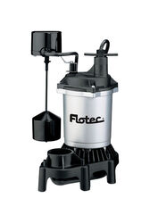 Flotec  1/3 hp 3,600 gph Thermoplastic  Vertical Float Switch  AC  Sump Pump