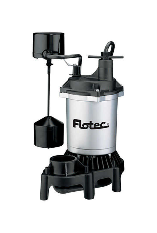 Flotec  1/3 hp 3600 gph Thermoplastic  Submersible Sump Pump