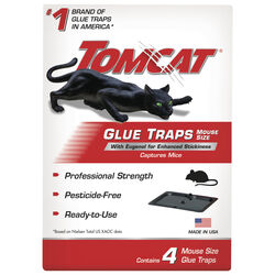 Tomcat Glue Trap For Mice 4 pk