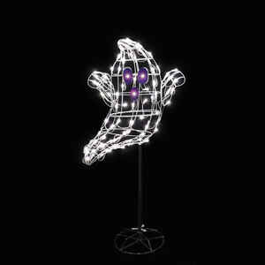 Santa's Best  Floating Ghost LED  Lighted Halloween Decoration  60 in. H x 9 in. W 1 pk