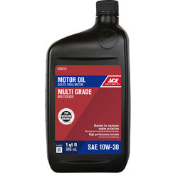 Ace  10W-30  4 Cycle Engine  Motor Oil  1 qt.