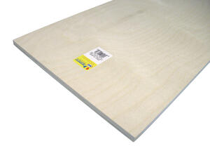Midwest Products  12 in. W x 24 in. L x 1/2 in.  Plywood