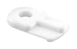 Prime-Line  Plastic  Screen Clip  White  4 pk For Flush