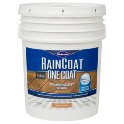 Wolman RainCoat OneCoat Semi-Transparent Natural Cedar Water-Based Wood Stain 5 gal.