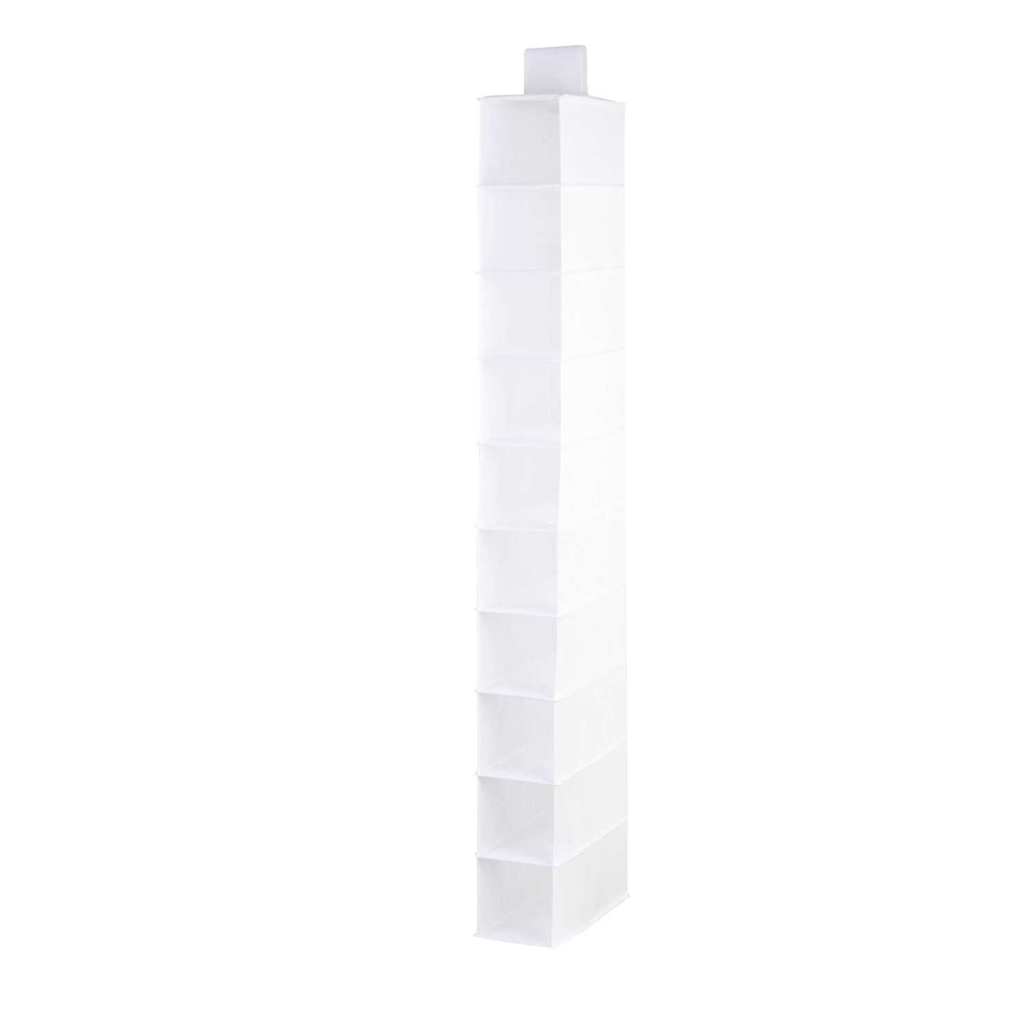 Honey Can Do  54 in. H x 12 in. W x 6 in. L Hanging Vertical Closet Organizer  1 pk Poly Cotton