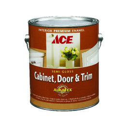 Ace  Semi-Gloss  Tintable Base  Ultra White Base  Alkyd-Latex Hybrid  Cabinet and Trim Paint  Indoor