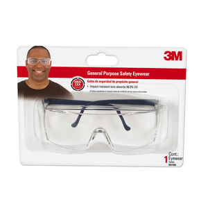 3M  Anti-Fog Safety Glasses  Clear Lens Clear Frame 1 pc.