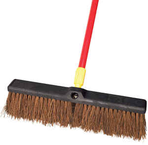 Ace  Rough Surface Push Broom  18 in. W x 60 in. L Palmyra