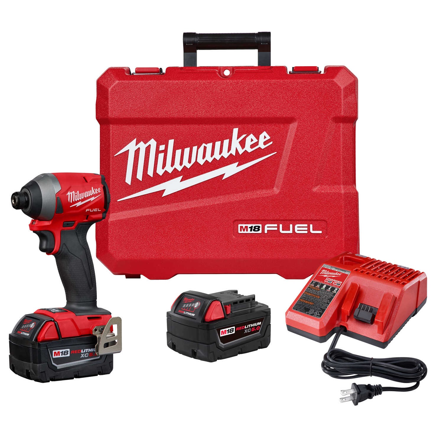 Milwaukee  M18 FUEL  18 volt Cordless  Brushless  Impact Driver  Kit  2000 in-lb