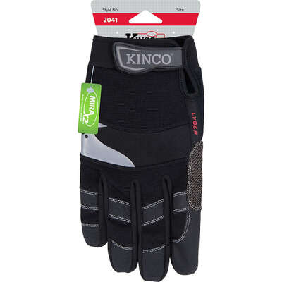 Kinco  General  Men's  Indoor/Outdoor  Padded Gloves  Black  M  1 pair