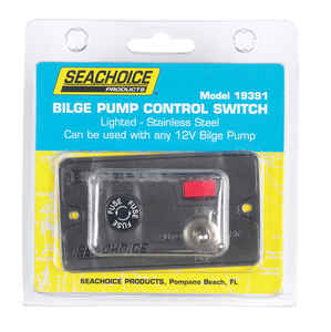Seachoice  Bilge Pump Control Switch  Stainless Steel