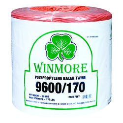 Winmore  9600 ft. L Orange  Poly  Twine