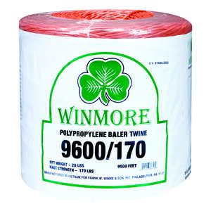 Winmore  9600 ft. L Orange  Twine  Poly
