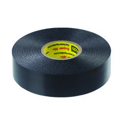 3M  Scotch  3/4 in. W x 66 ft. L Black  Vinyl  Electrical Tape
