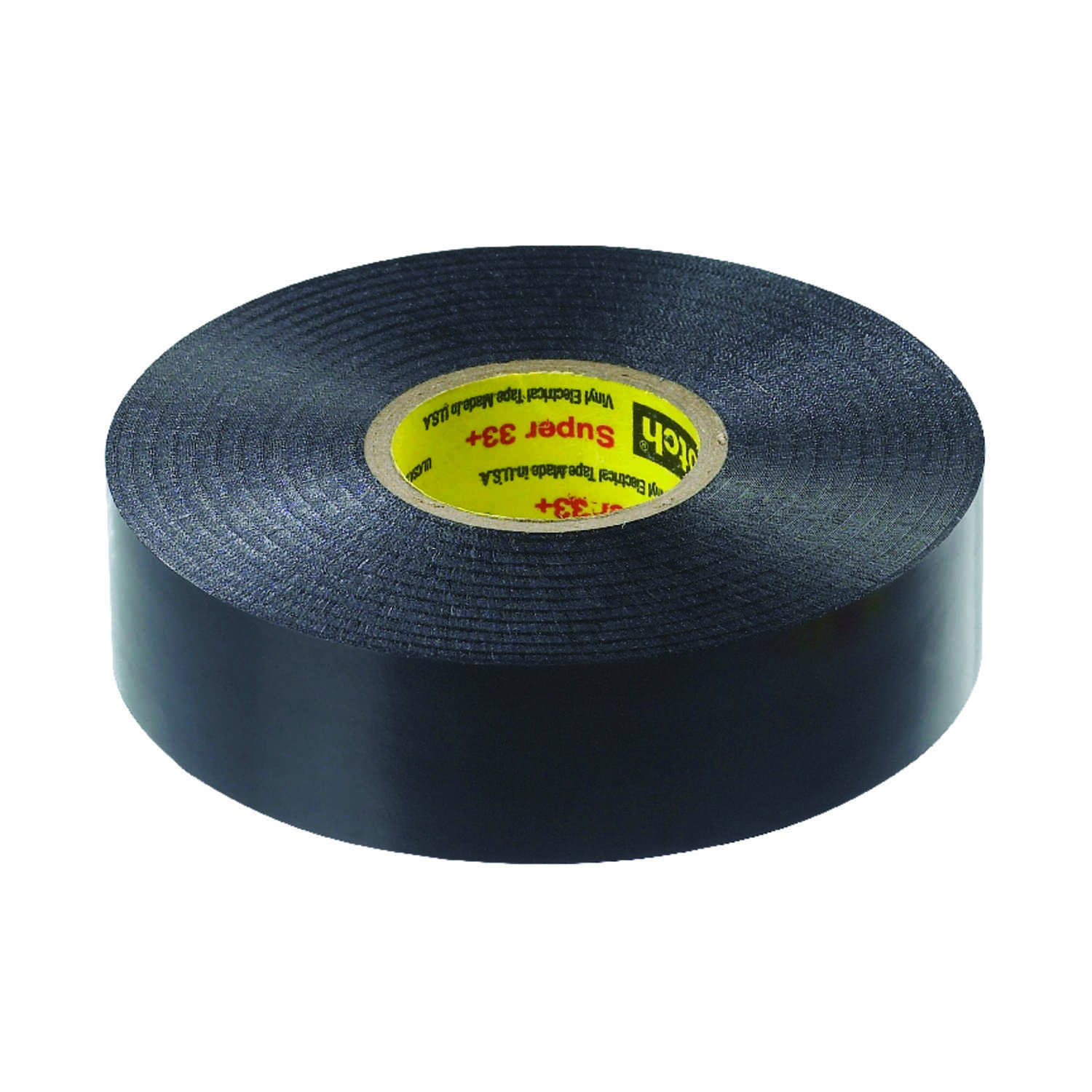 Scotch  Super 33+  3/4 in. W x 66 ft. L Black  Vinyl  Electrical Tape
