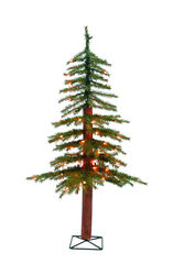 Holiday Bright Lights 3 ft. Slim Incandescent 50 count Alpine Tree Christmas Tree