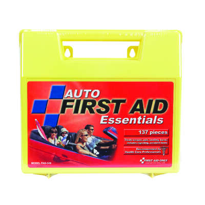 First Aid Only  Auto First Aid Kit  137 pc.
