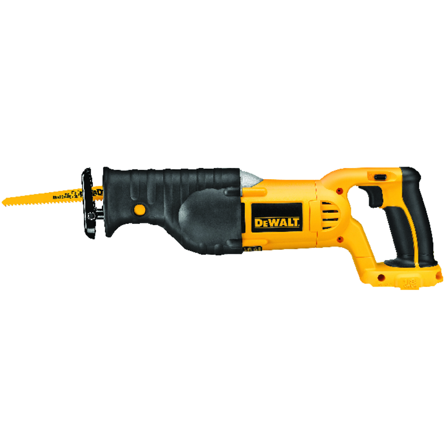 DeWalt  1-1/8 in. Cordless  18 volts 3000 spm Reciprocating Saw