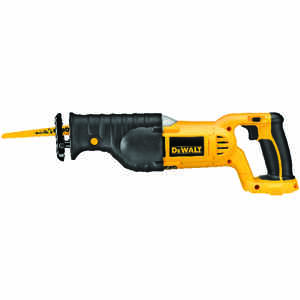 DeWalt  1-1/8 in. Cordless  Reciprocating Saw  18 volt 3000 spm