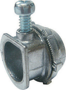 Sigma Electric ProConnex  3/8 in. Dia. Die-Cast Zinc  Flex Connector  For AC and MC 100 pk