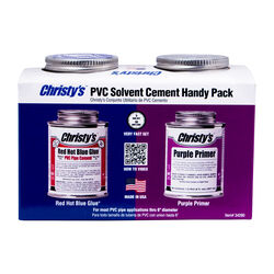 Christys  Blue/Purple  Primer and Cement  For CPVC/PVC 8 oz.